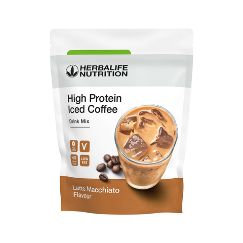 High Protein Iced Coffee gusto Latte Macchiato 308 gr - Herbalife