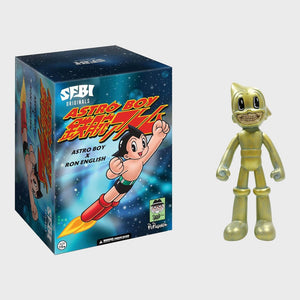 Astro Boy Grin by Ron English Popaganda x Sfbi Original Bronze