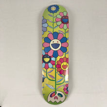 Load image into Gallery viewer, Murakami Flower Cluster Skateboard Deck
