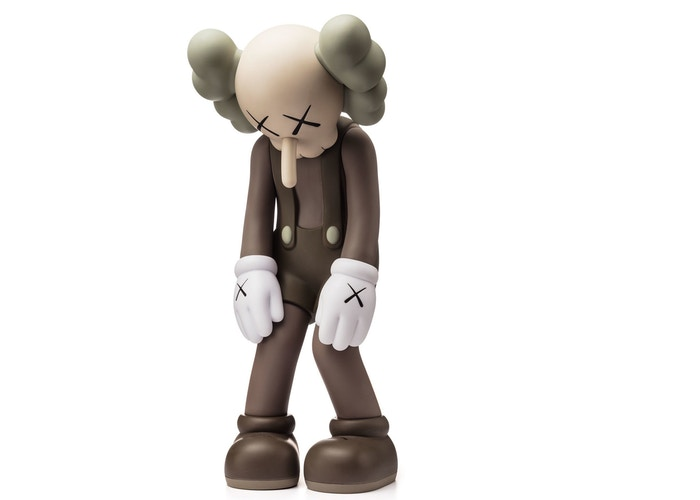 KAWS Small Lie Companion Vinyl Figure Brown
