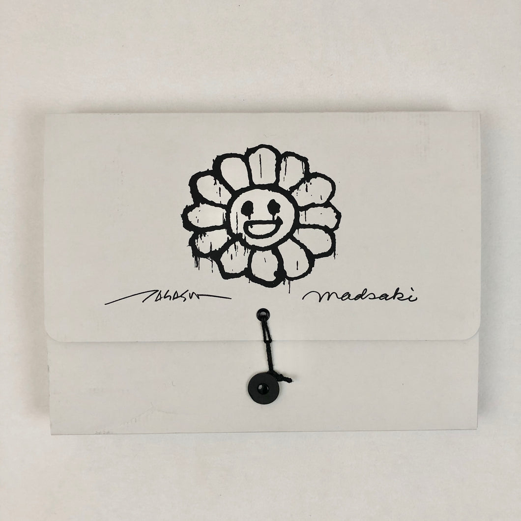 Takashi *Signed Pouch Flower Pouch