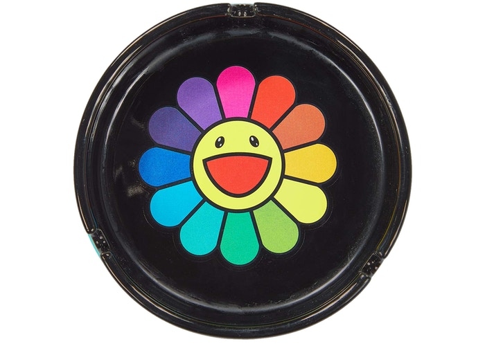 Takashi Murakami ComplexCon Flower Ashtray Multicolor