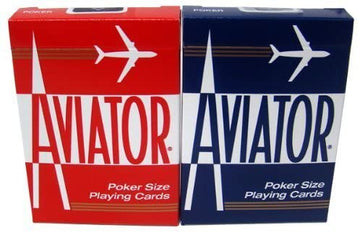 High Quality Aviator Playing Cards, Poker Size - 2 Decks