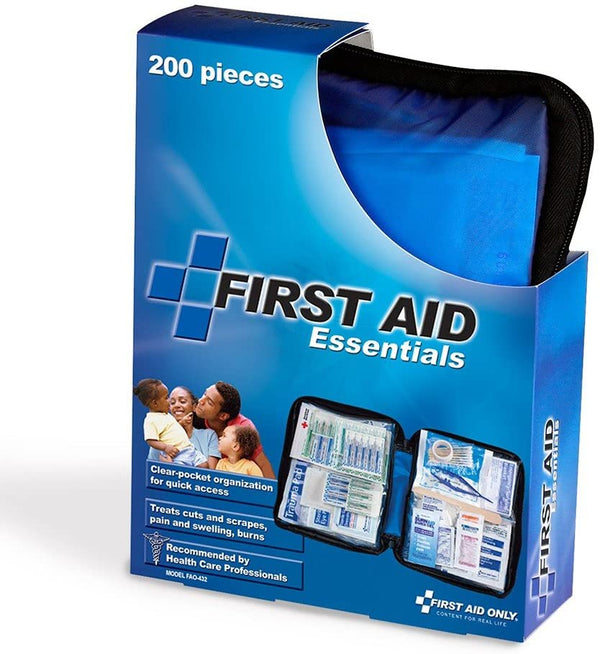First Aid Only First Aid Kit, 200 Piece, Soft Case
