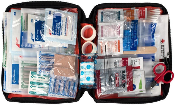 First Aid Only, Outdoor First Aid Kit, Soft Case, 205-Piece Kit