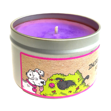 INCREDIBERRY FETCH 100% soy wax triple-scented candle