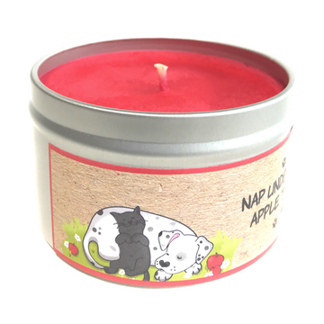 NAP UNDER THE APPLE TREE 100% soy wax triple-scented candle