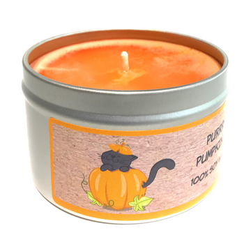 PURRFECT PUMPKIN SPICE 100% soy wax triple-scented candle