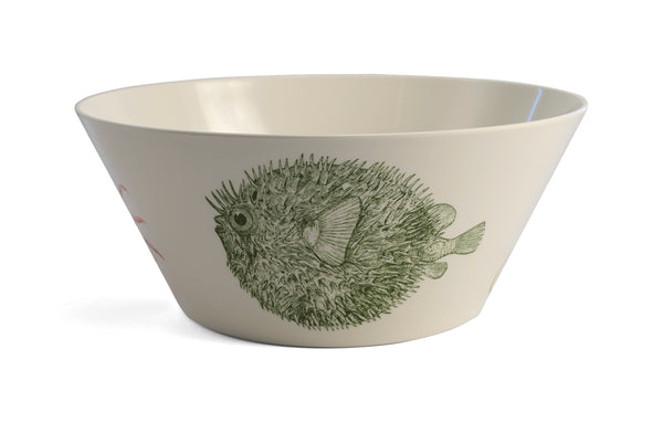 Sealife Serving Bowl