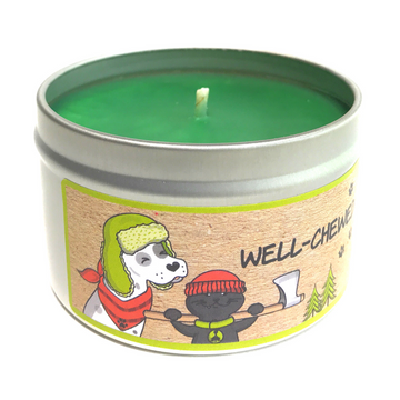 WELL CHEWED STICK 100% soy wax triple-scented candle