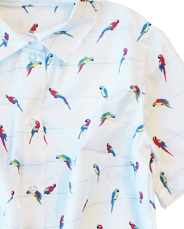 Birds of Paradise BBQ Shirt - Matching Sizes for Dogs + Humans