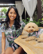 Island Nights BBQ Shirt - Matching Sizes for Dogs + Humans