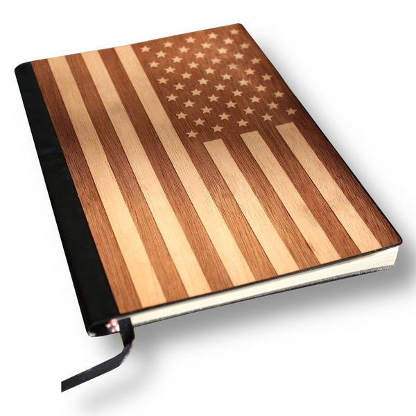 Handcrafted 5 x 7 Wood Journal / Planner