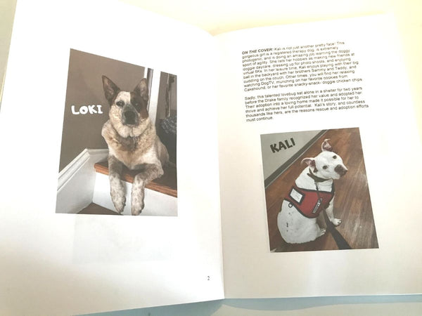 RESCUE DOG JOURNAL-STYLE NOTEBOOK