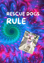 RESCUE DOGS RULE DOODLE-STYLE NOTEBOOK