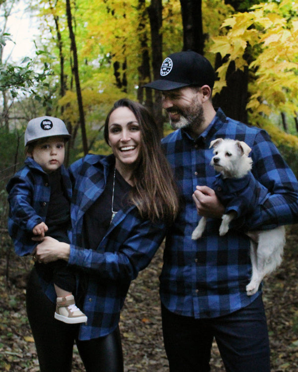 Pacifica Flannel - Matching Sizes for Dogs + Humans
