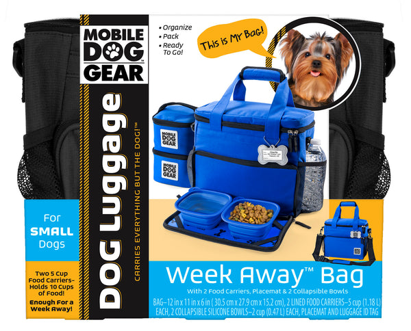 Week Away Bag (Small Dogs) TM