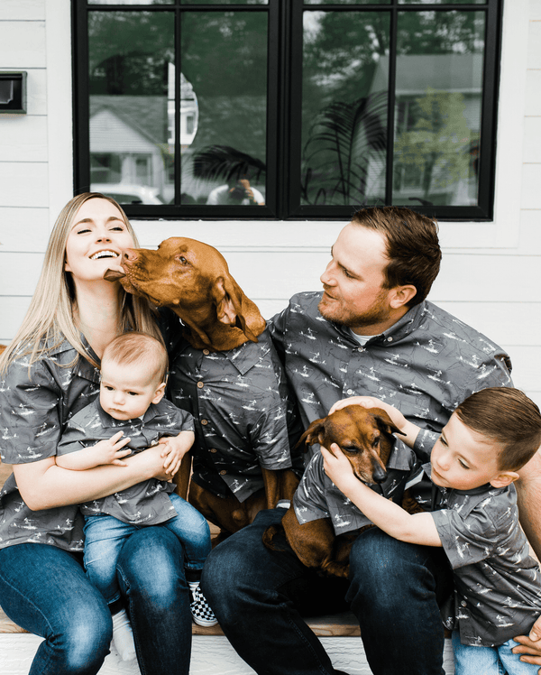 Open Water BBQ Shirt - Matching Sizes for Dogs + Humans