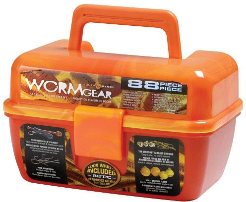 Wormgear Tackle Box Set-Orange