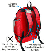Drop Bottom Weekender Backpack