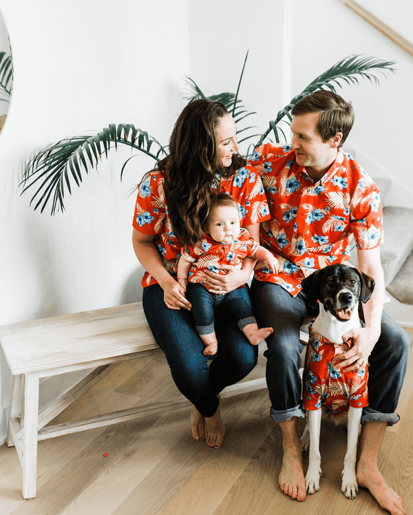 Vintage Vacay BBQ Shirt - Matching Sizes for Dogs + Humans