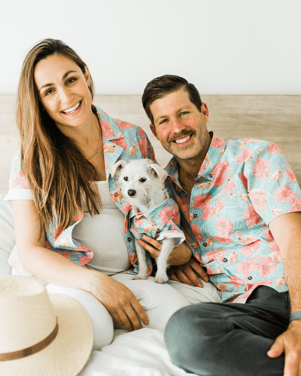 Washed Out BBQ Shirt - Matching Sizes for Dogs + Humans