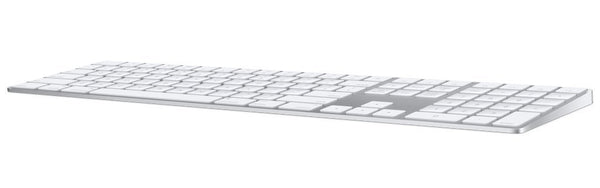 Apple Magic Keyboard with Numeric Keypad (Wireless, Rechargable) (US English) - Silver - Dumux&EurekaYa