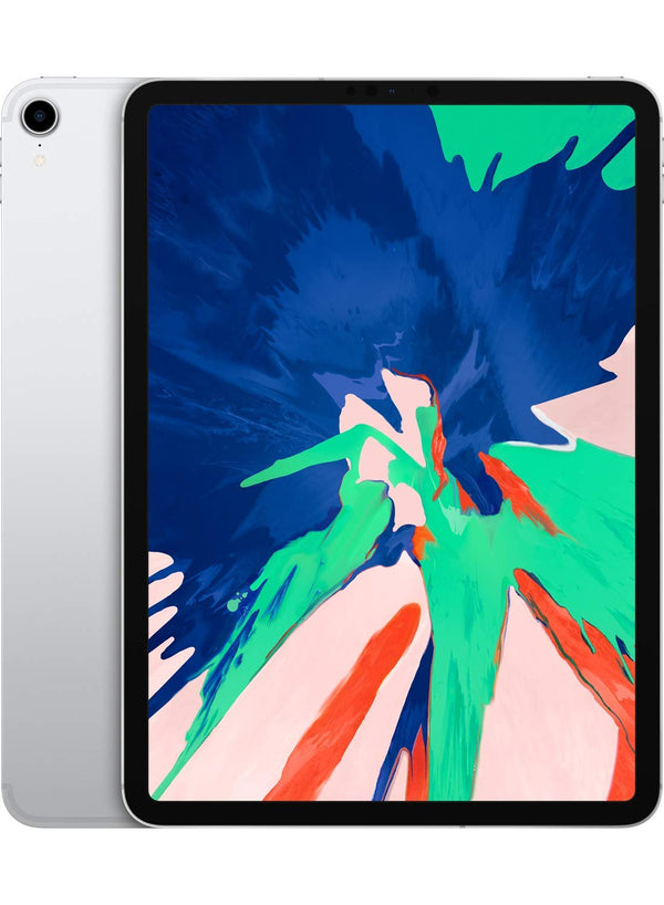 Apple iPad Pro (11-inch, Wi-Fi + Cellular, 256GB) - Silver (Latest Model) - Dumux&EurekaYa