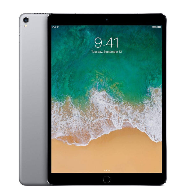 Apple iPad Pro 10.5in with ( Wi-Fi + Cellular ) - 2017 Model - 256GB, SPACE GRAY (Renewed) - Dumux&EurekaYa