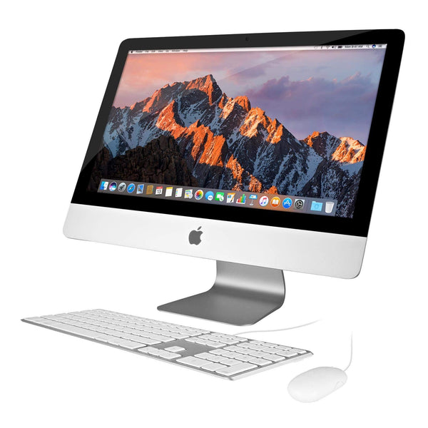 Apple iMac 21.5in 2.7GHz Core i5 (ME086LL/A) All In One Desktop, 8GB Memory, 1TB Hard Drive, Mac OS X Mountain Lion (Renewed) - Dumux&EurekaYa
