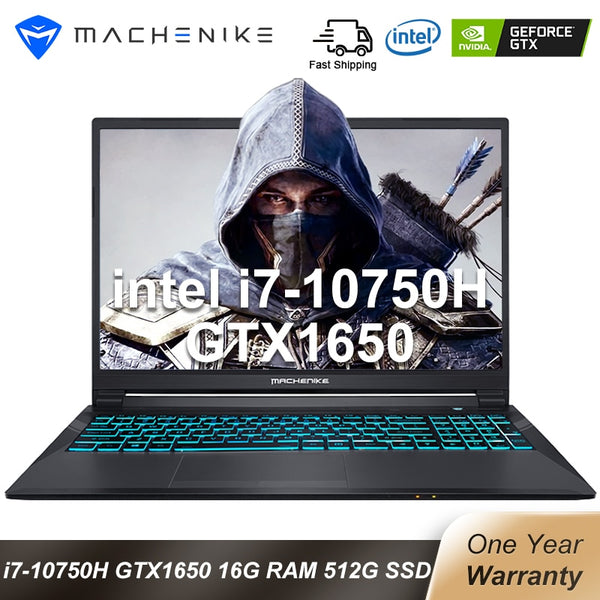 Machenike T90 Newest Gaming laptop i7 10750H GTX1650 16GB RAM 512G SSD 1T HDD - Dumux&EurekaYa