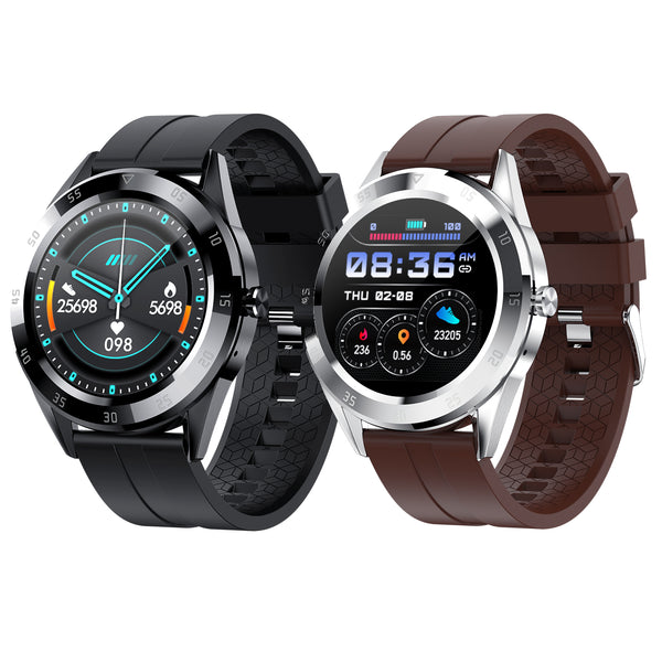 Bakeey Y10 1.54' Full Touch Screen Dual Menu Style Multiple Dial Option Heart Rate - Dumux