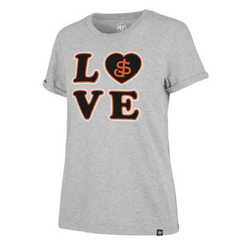 San Jose Giants 47 Brand Women's Love Tee