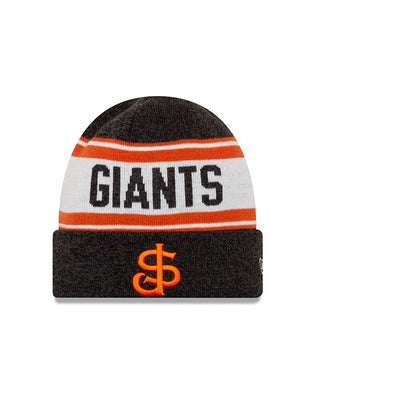 San Jose Giants New Era SJ Beanie