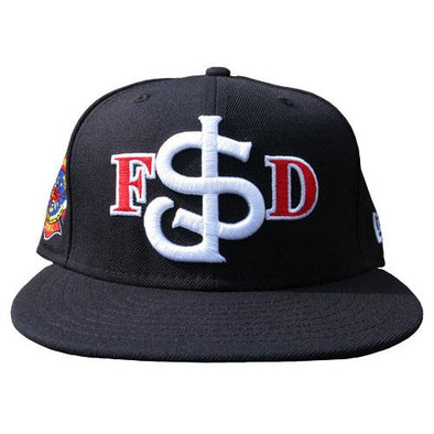 San Jose Giants New Era San Jose Fire Department Fitted Cap - Navy