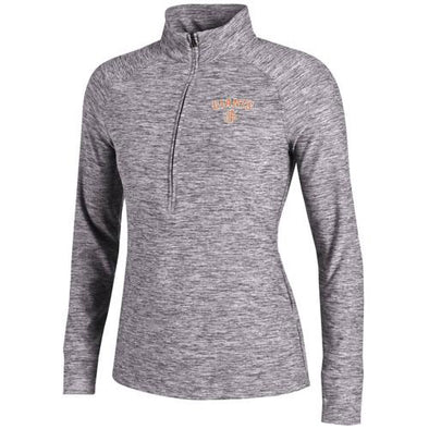 San Jose Giants Under Armour Women's Zinger Gray 1/4 Zip
