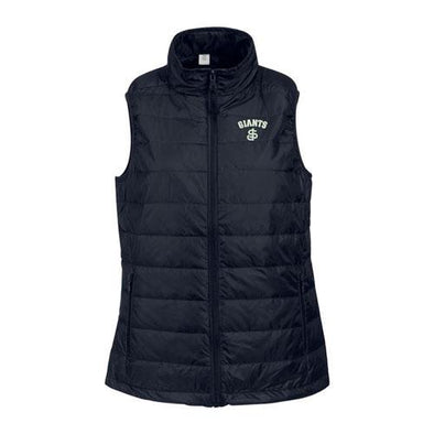 San Jose Giants Vantage Women's Black Puff Vest
