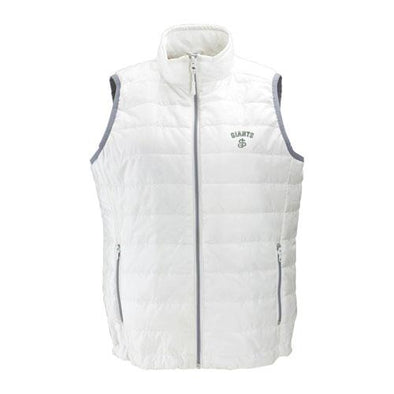 San Jose Giants Vantage Women's White Puff Vest