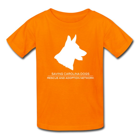 SCD Kids' T-Shirt - orange