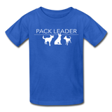 Pack Leader Ultra Cotton Youth T-Shirt - royal blue