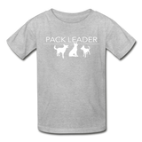 Pack Leader Ultra Cotton Youth T-Shirt - heather gray