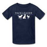 Pack Leader Ultra Cotton Youth T-Shirt - navy