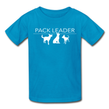 Pack Leader Ultra Cotton Youth T-Shirt - turquoise