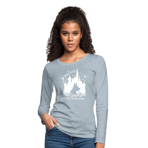 Dreams Come True Women's Premium Long Sleeve T-Shirt - heather ice blue
