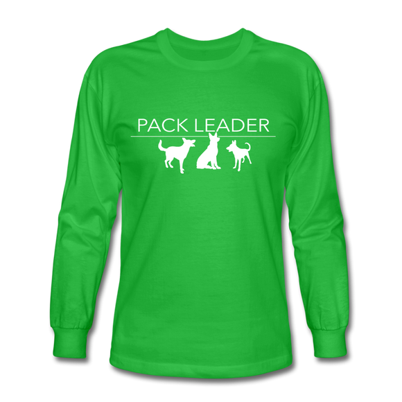Pack Leader Long Sleeve T-Shirt - bright green