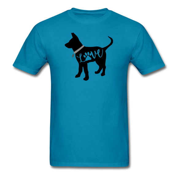 CD Puppy Love Unisex Classic T-Shirt - turquoise