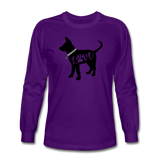 CD Puppy Love Long Sleeve T-Shirt - purple