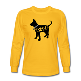CD Puppy Love Long Sleeve T-Shirt - gold