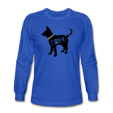 CD Puppy Love Long Sleeve T-Shirt - royal blue