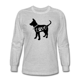 CD Puppy Love Long Sleeve T-Shirt - heather gray